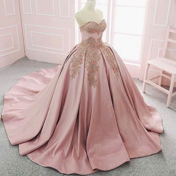 Stock pink dresses 15 years (3)