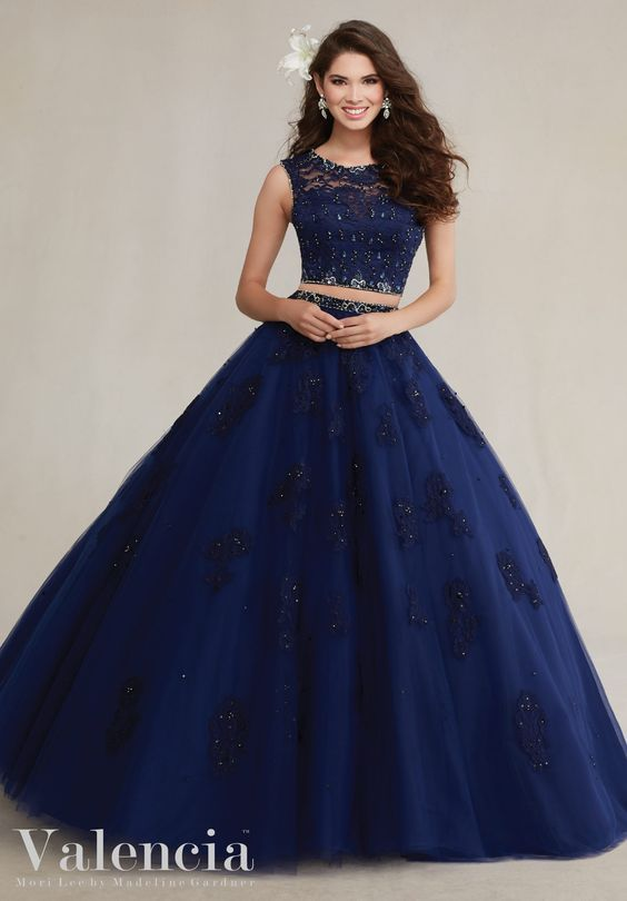 Trends quinceanera dresses two piece (2)