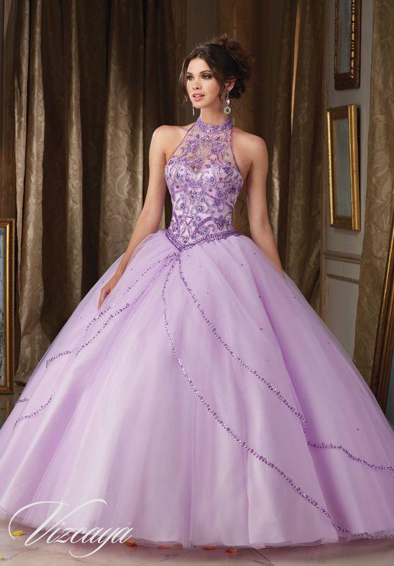 Vestidos de 15 anos lila (2)