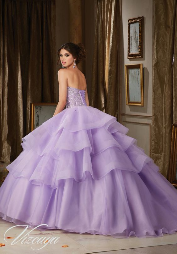 Vestidos de 15 anos lila (3)