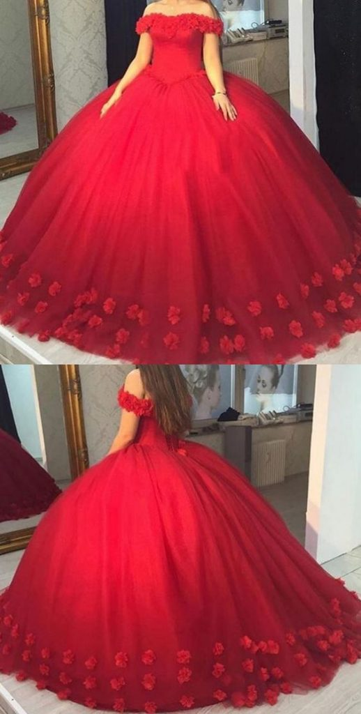 Red dresses 15 years (4)