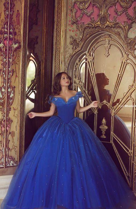 Vestidos De Quince Anos Azul Rey 3 Como Organizar La