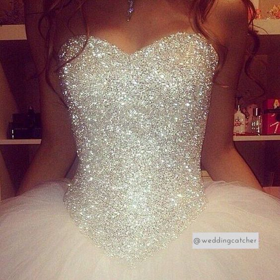 Quinceanera dresses with Sweetheart Neckline (1)