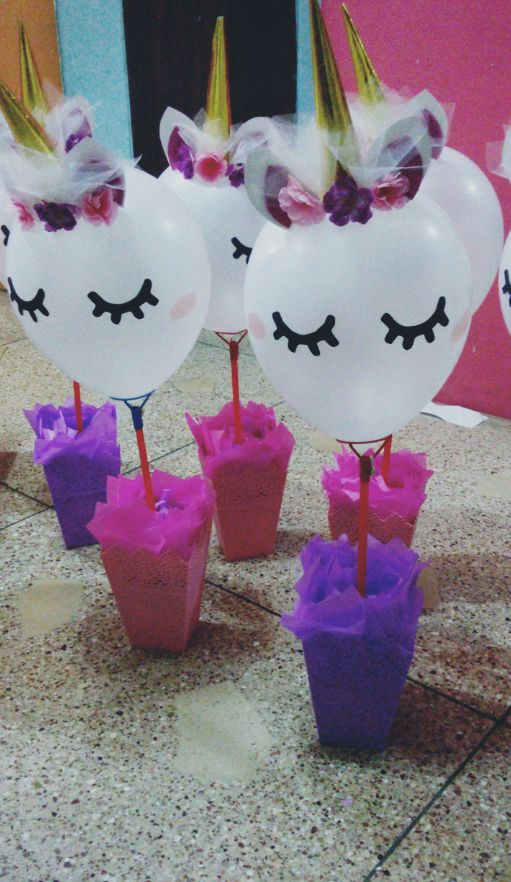 adornos para cumpleaños de niña