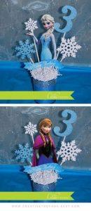 adornos para fiesta de niña de 3 años