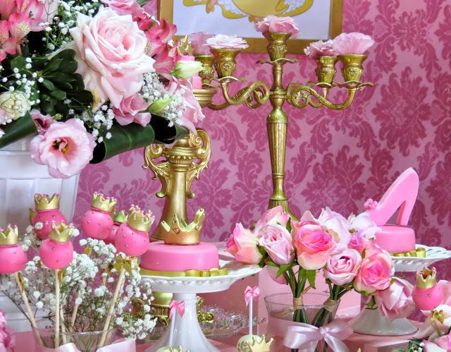 bocadillos mesa de postres de princesas (5)