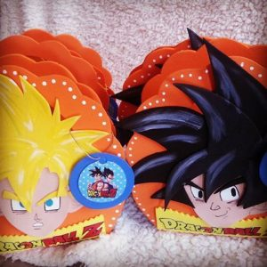 bolos para dulces para fiesta de goku (2)