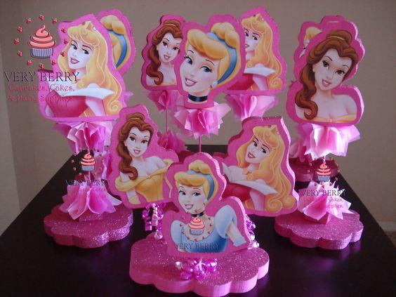 centros de mesa economicos para fiesta de princesas (2)