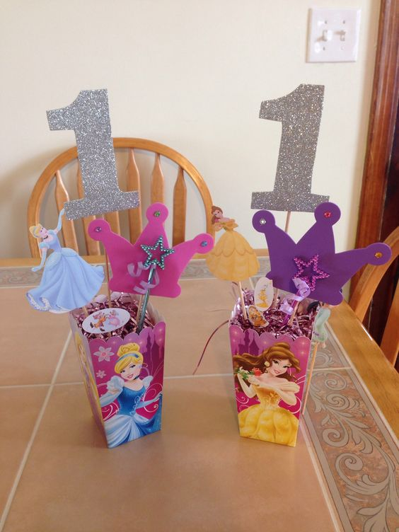 centros de mesa economicos para fiesta de princesas (3)