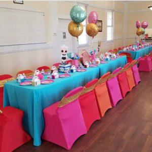 centros de mesa para fiesta de munecas lol