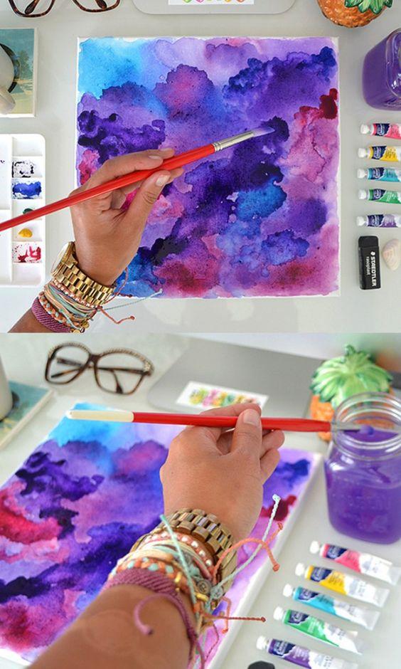 como aprender a pintar con acuarela (1)