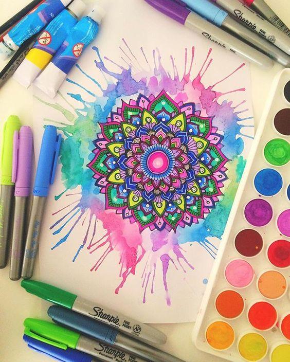 Diy ideas para pintar con acuarelas - Aprender a pintar ...
