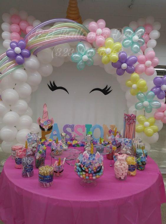 como decorar un cumpleaños de niña