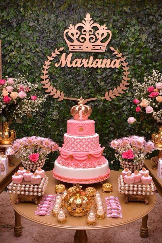 como decorar una fiesta de princesa