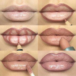 como delinear los labios (2)