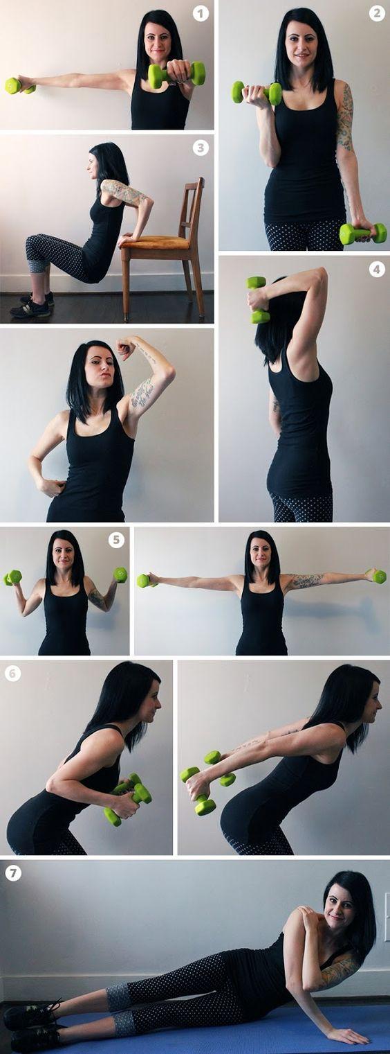 Rutina de ejercicios para hacer en casa for Hacer ejercicio
