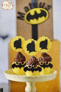 cup cake o bollitos de batman (7)