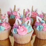 cupcakes personalizados de unicornios