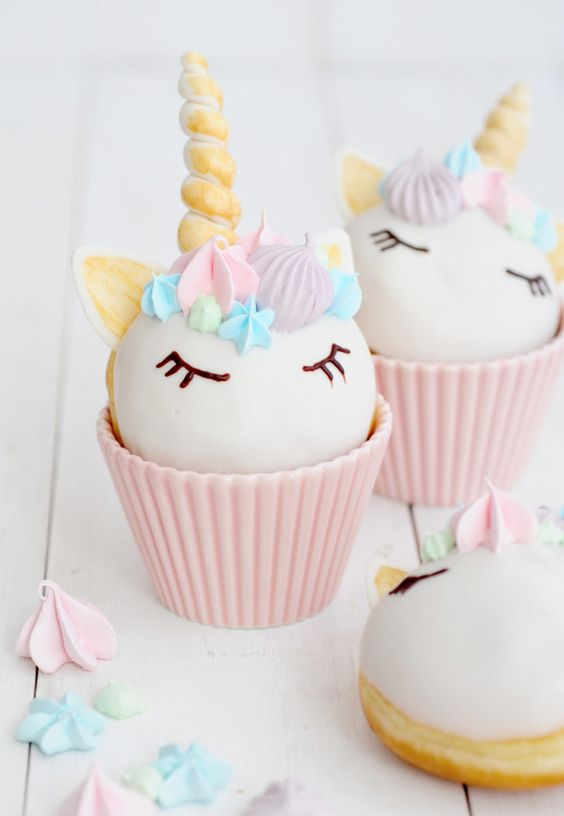 cupcakes personalizados de unicornios (2)