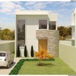 decoracion de exteriores casas pequenas fachadas