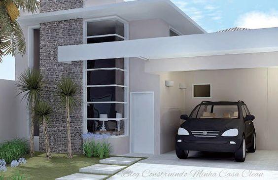 decoracion de exteriores casas pequenas fachadas (3)