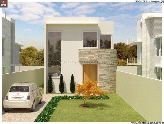 Decoracion de exteriores casas pequenas fachadas for Decoracion de fachadas de casas