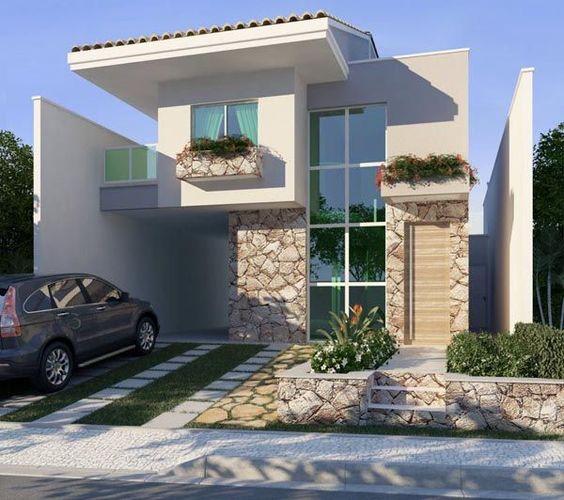 Exteriores de casas previous image next image for Pintura de exteriores de casas pequenas