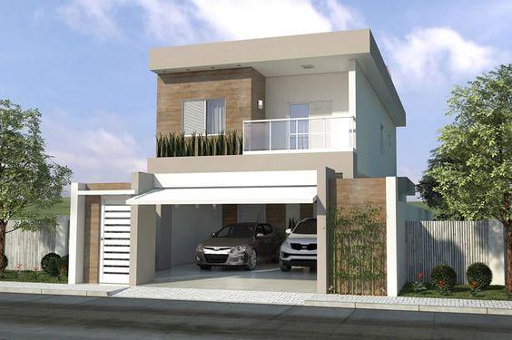 Decoracion de exteriores de casas fachadas 3 for Decoracion de exteriores de casas pequenas