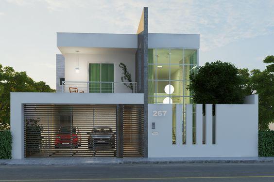 Decoracion de exteriores de casas fachadas 4 - Decoracion de fachadas ...
