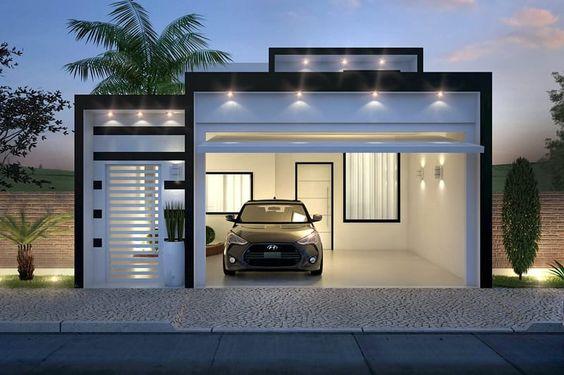 Decoracion de exteriores de casas fachadas for Decoracion de fachadas de casas