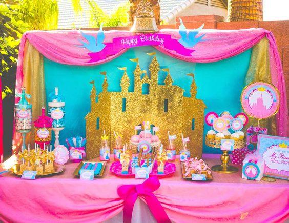 decoracion de un cumple de princesa
