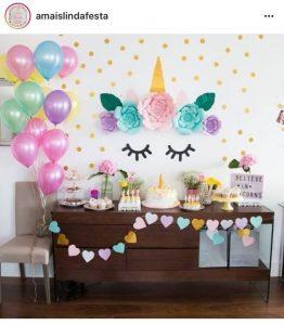 decoracion de unicornios con globos (2)