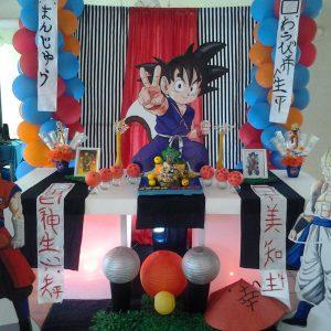 decoracion mesa principal goku (6)