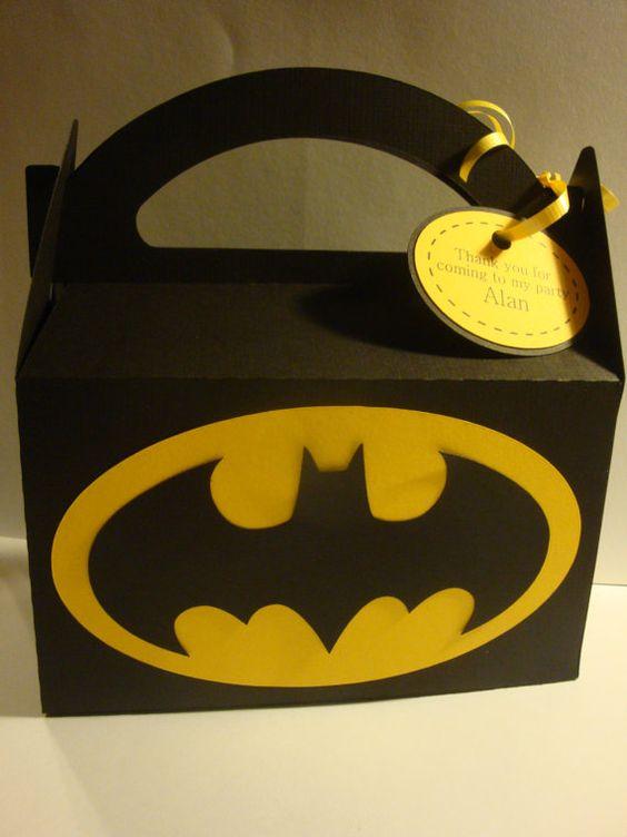 dulceros para una fiesta de batman (3)