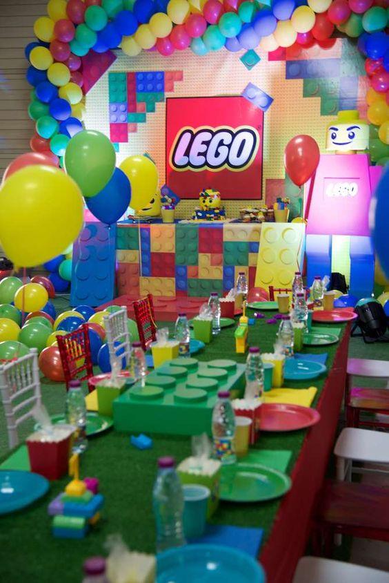 fiesta infantil de lego