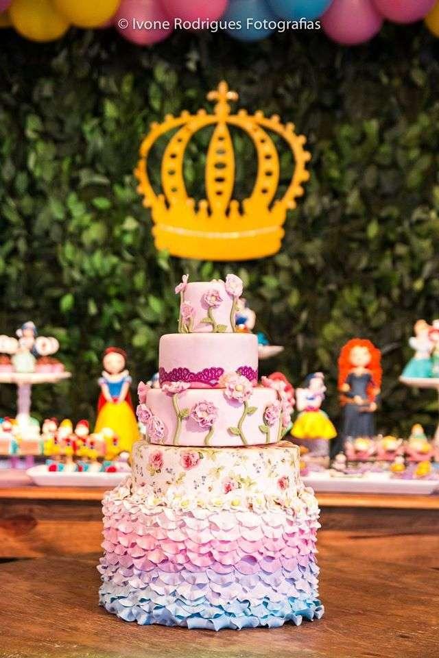 fiesta infantil de princesa
