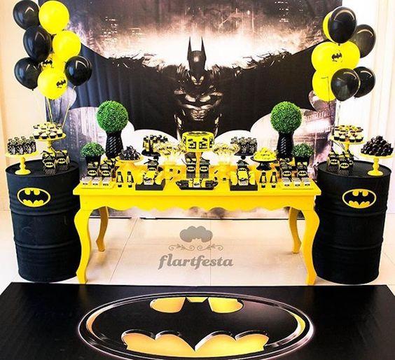 fiestas infantiles de batman