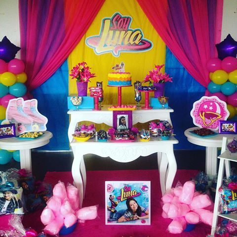 Fiestas infantiles de moda para ste 2018 con ideas incre bles - Ideas fiestas tematicas ...