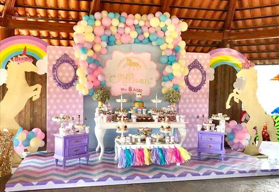 Fiestas infantiles de unicornios con las mejores ideas para decorar ste 2018 - Regalos para fiestas de cumpleanos infantiles ...