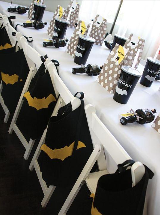 fiestas infatiles de batman