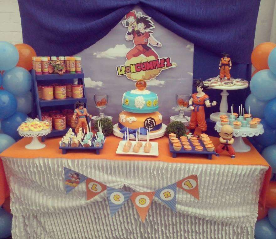 fiestas tematicas de goku