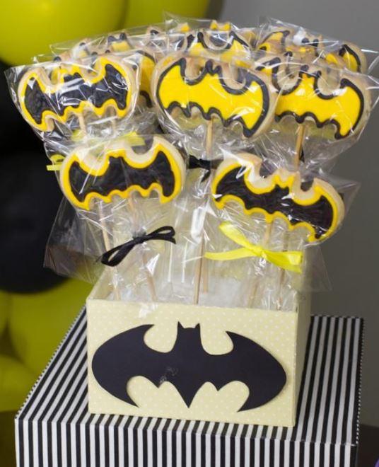 galletas decoradas de batman
