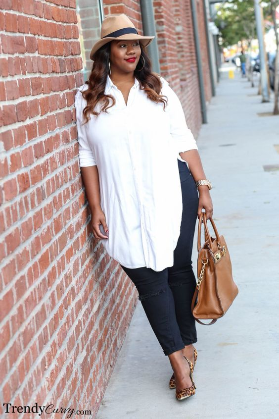f605dd7bc ... ideas de outfits para mujeres llenitas de 40 anos (2)
