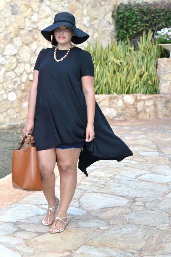 ideas de outfits para mujeres llenitas de 40 anos