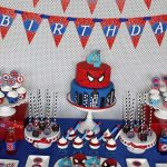 ideas para decorar cumpleanos de spiderman
