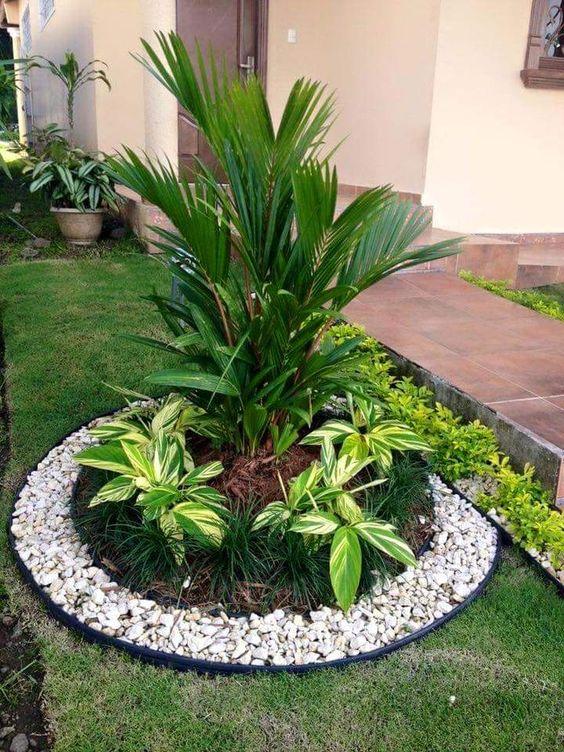 ideas para decorar el jardin del frente de una casa (5)
