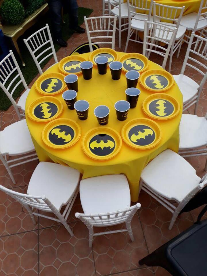 ideas para decorar fiesta infantil de batman