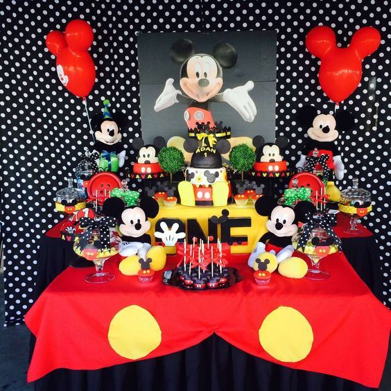 ideas para fiesta de mickey mouse