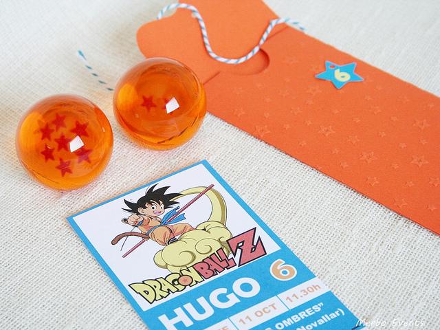 invitacion para una fiesta infantil de goku (2)