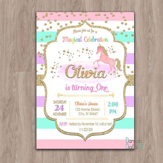 invitaciones de unicornios (4)